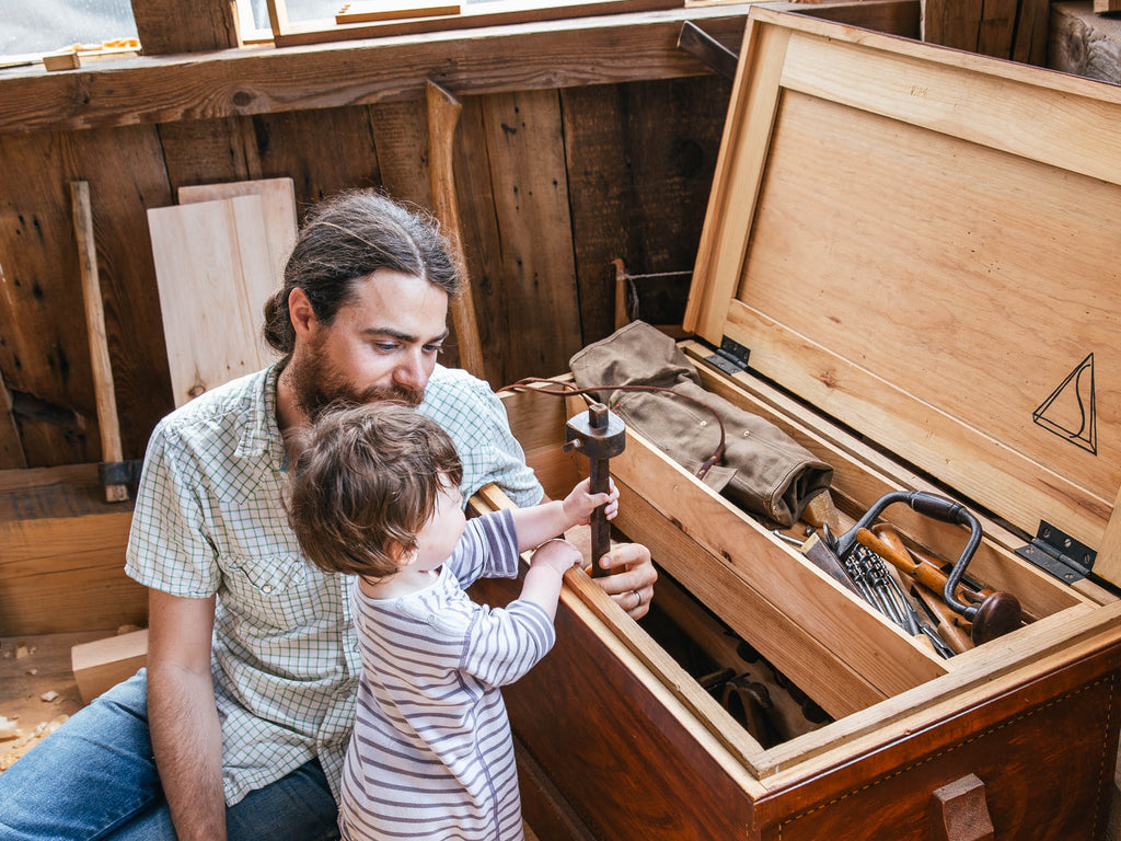 Issue Five: Tools for Learning - Woodworking with Young Kids