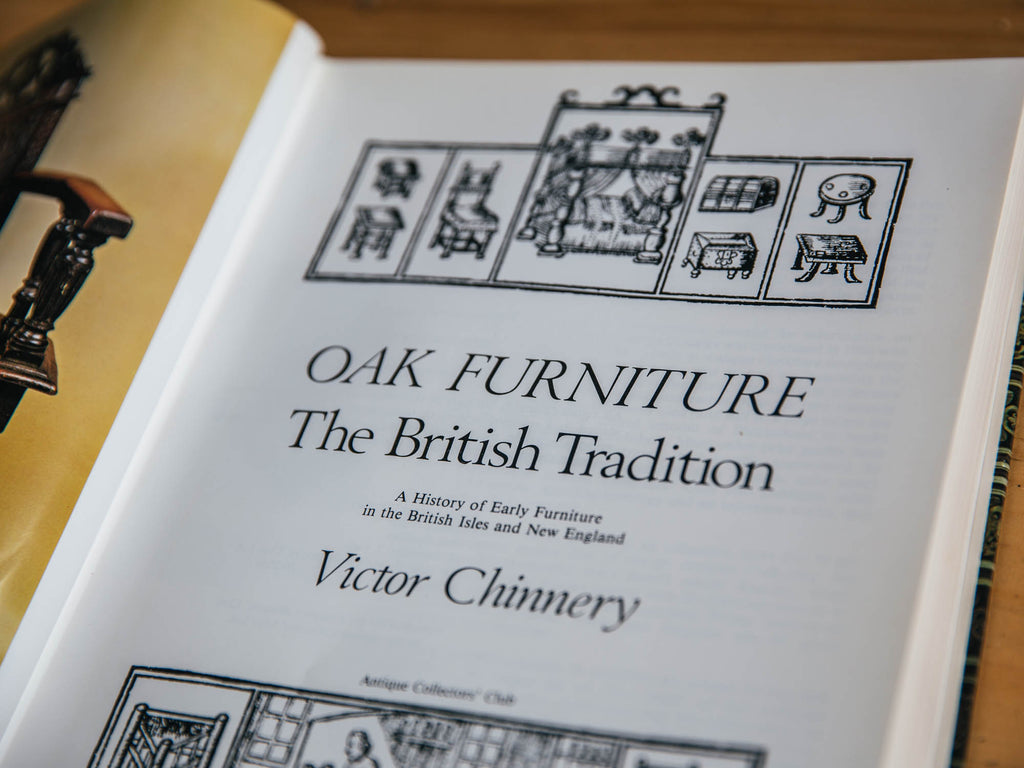 "Issue Five: Book Recommendation – Chinnery's ""Oak Furniture"""