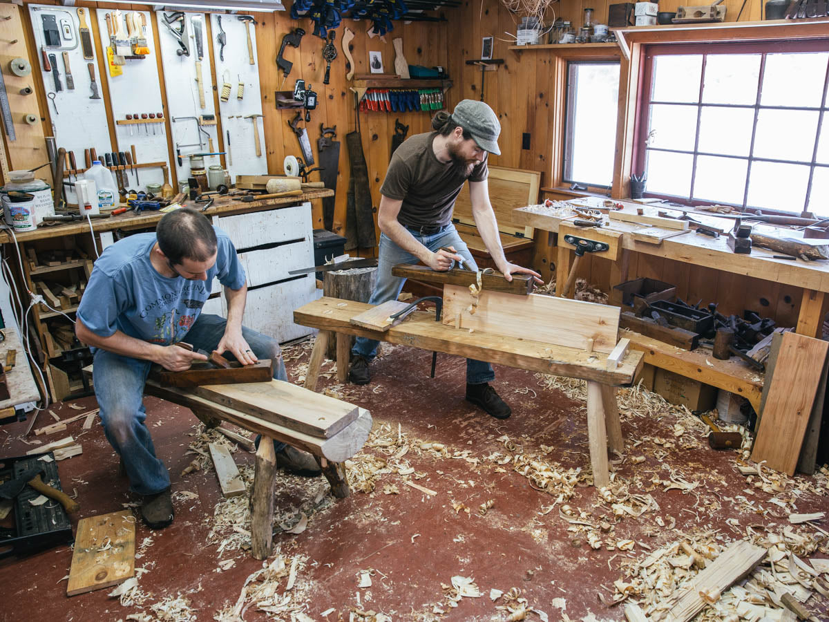 final day of the roman workbench build – mortise & tenon