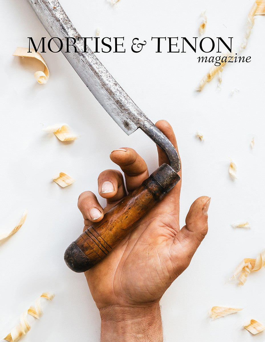 Issue Three T O C  - Spring Pole Lathe: Design, Construction, and
