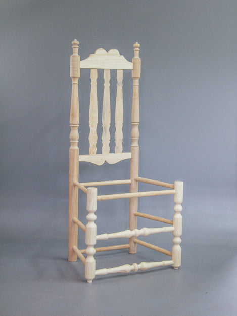 Banister-back Chair: A Yale Commission