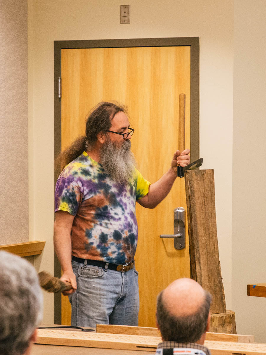 This event was exactly what editor tom mckenna envisioned for us all fellowship around woodworking