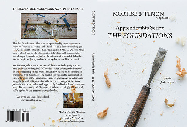 "Hand Tool ""Foundations"" Now Available for Streaming!"