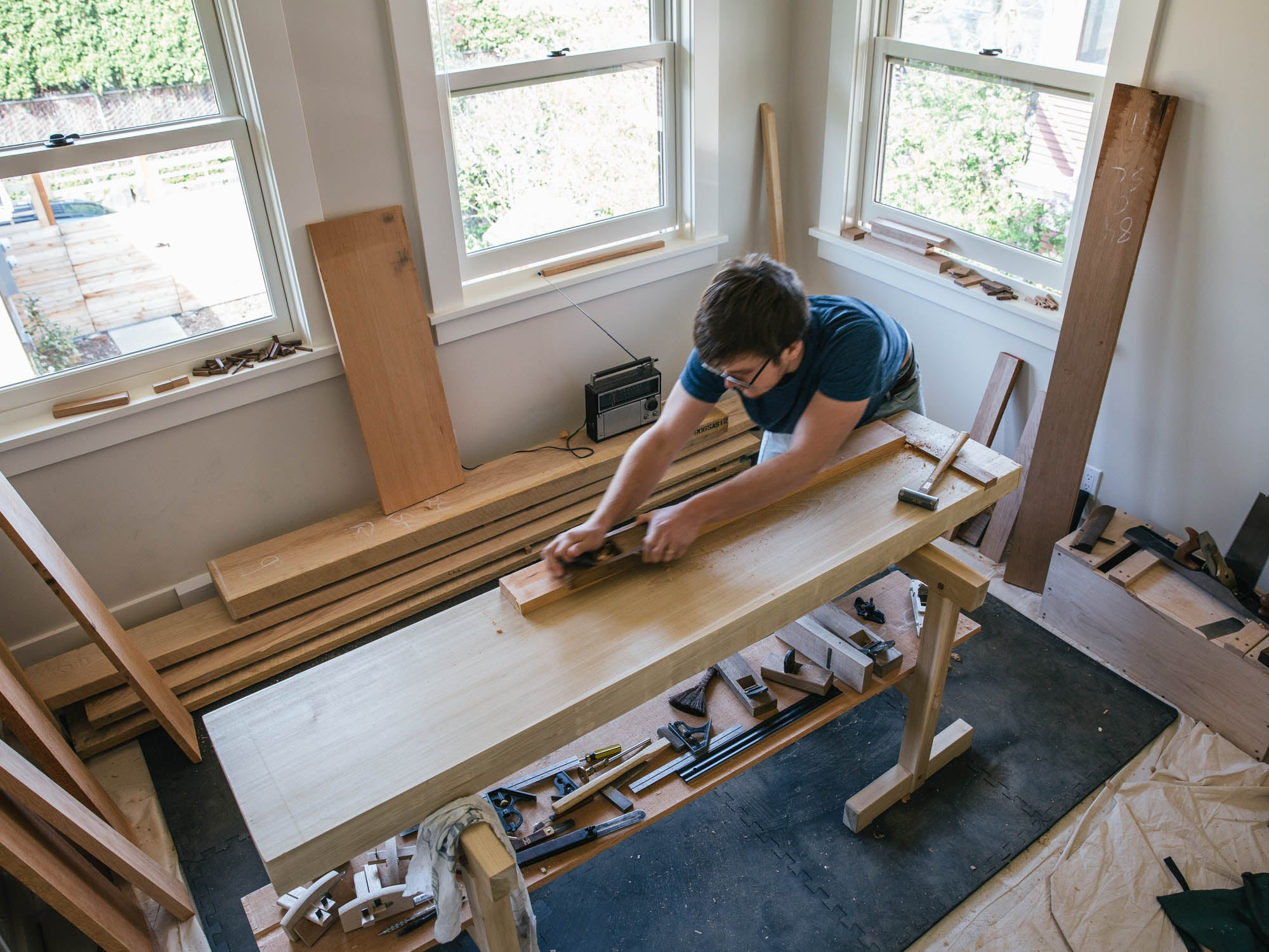 Issue Five Apartment Woodworking With Spencer Nelson Mortise