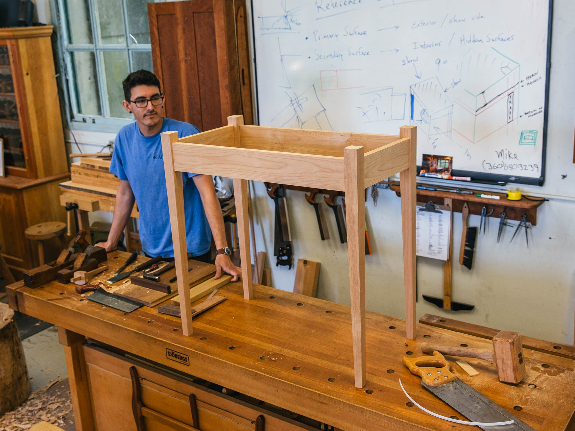 A New Old Way Of Working Wood Mortise Tenon Magazine