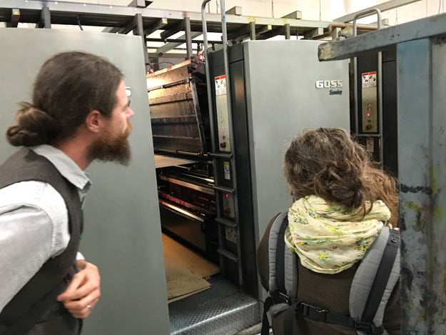 A Visit to the Printer