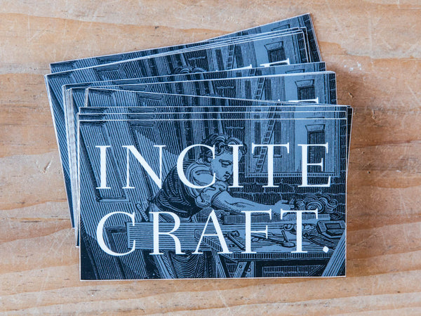 """Incite Craft"" Sticker"