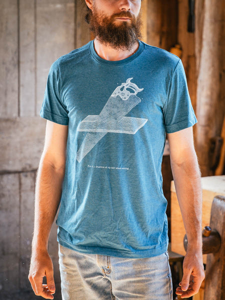 "Teal ""Ripsaw"" T-shirt"