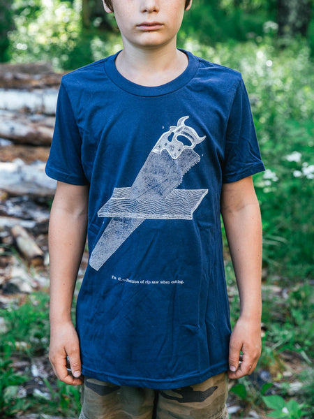 "Youth Navy ""Ripsaw"" T-shirt"