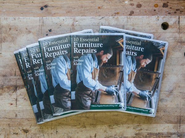 '10 Essential Furniture Repairs' DVD