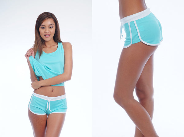 Activewear Light Blue Outfit