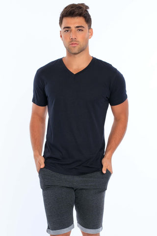 Men's Modal V-Neck T-Shirt