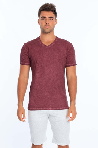 Men's Cool Dye V-Neck T-Shirt