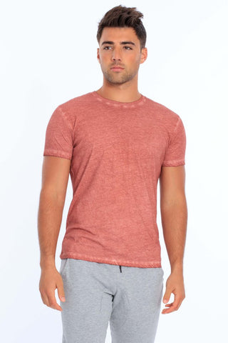 Men's Cool Dye Crew Neck T-Shirt