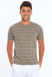 Miami Style® - Men's Injected Yarn Crew Neck T-Shirt