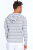 Men's Injected Yarn Long Sleeve Hoodie