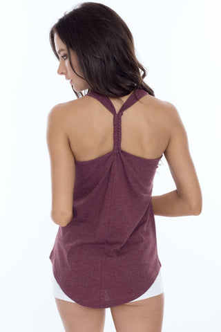 Braided Center Tank Top