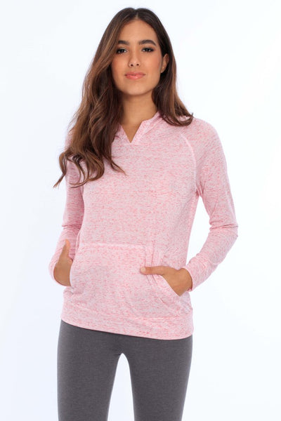 Women's Tri-Blend Hoodie w/ Front Pocket