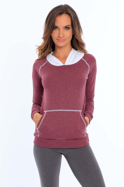 Women's Two Tone Hoodie