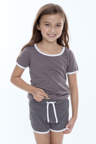 Girls Sporty French Terry Shorts