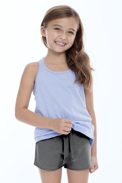Girls Fleece Shorts with Pockets
