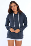 Unisex Fleece Hoodie w/ Front Pocket