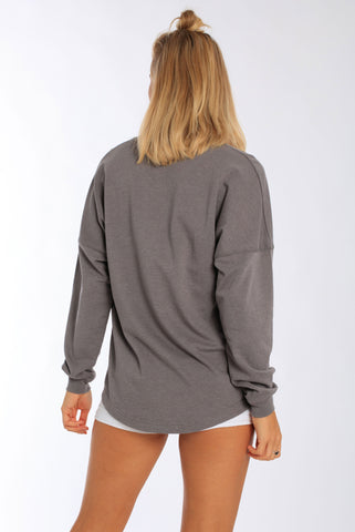 Miami Style® - Oversized Long Sleeve Pullover