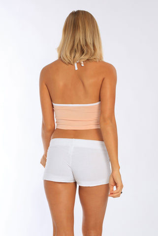 Miami Style® - Women's Fitted Halter Neck Cropped Top