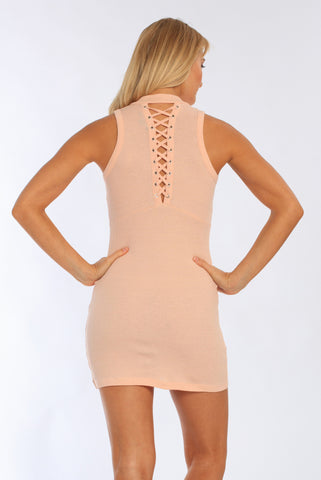 Miami Style® - Women's Lace Up The Back Dress