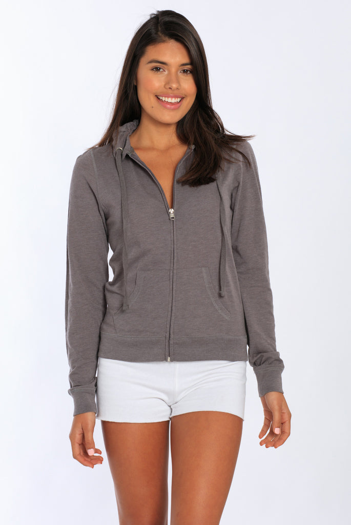 Miami Style® - Light Zip-Front Hoodie