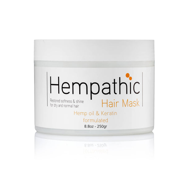 Hemp Oil Hair Mask with Keratin