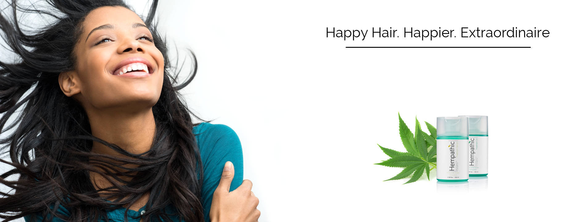 Hempathic - Hemp Oil Hair Care