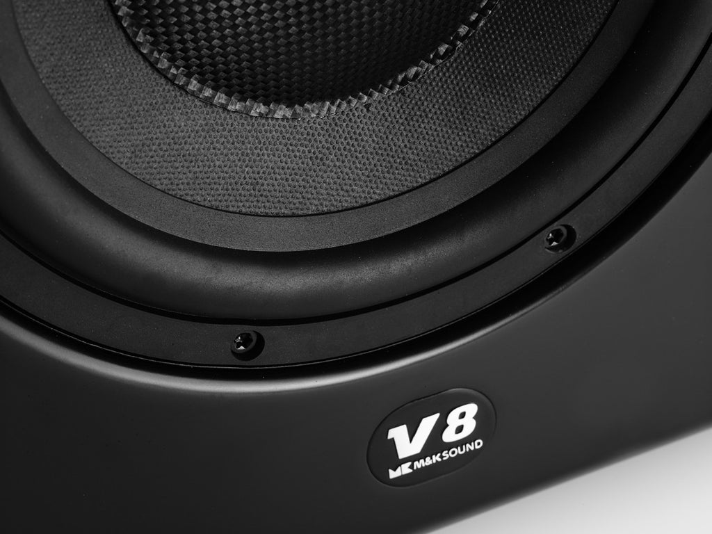 "V8 Ultra Compact 8"" powered subwoofer"