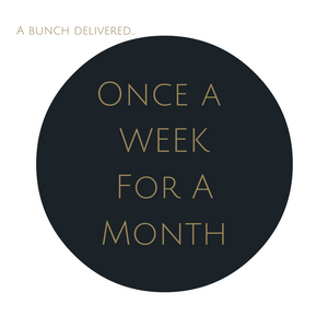 Order Large Bouquet Subscription once a week for a month