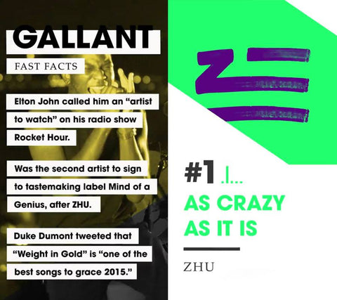 FEATURED: Gallant x ZHU on Snapchat Music