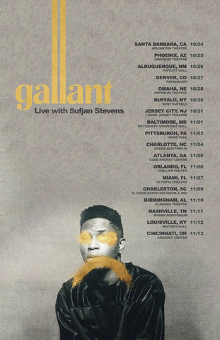 ANNOUNCED: Gallant, Live with Sufjan Stevens