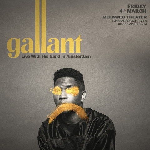 ANNOUNCED: Gallant to Make European Debut