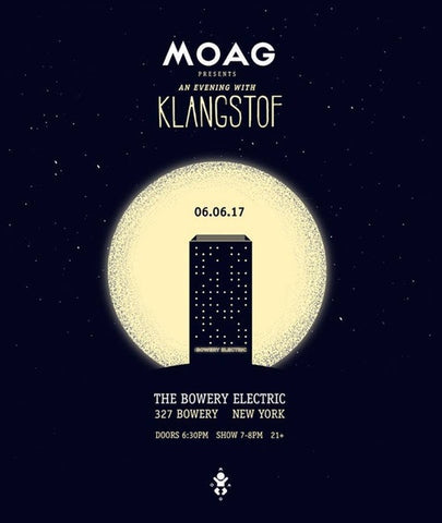 ANNOUNCED: Klangstof at Bowery Electric
