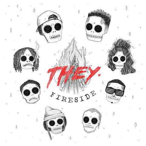 LISTEN: THEY. Release their EP 'Fireside'