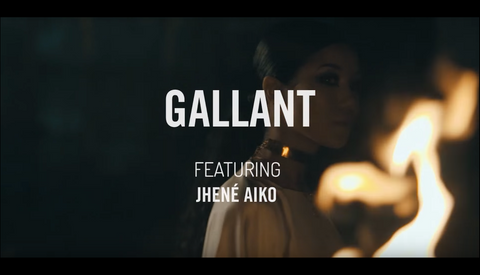 "WATCH: Gallant - ""Skipping Stones"" Video featuring Jhené Aiko"