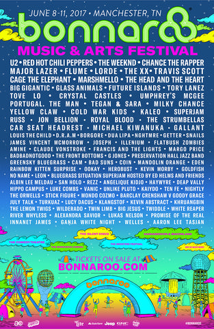 ANNOUNCED: Gallant + Klangstof at Bonnaroo Music Festival