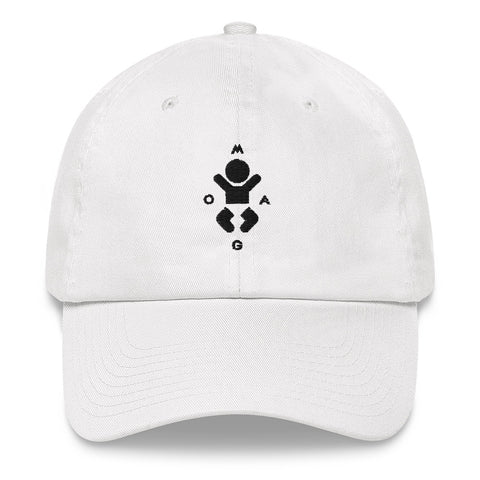 MOAG Dad Hat (White)