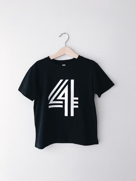 Birthday Bold Number T-Shirts
