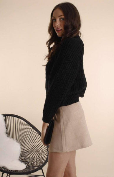 Soft Cropped Knit