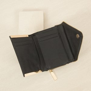 Black Envelope Wallet Adorne Me