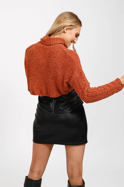 Amber Cropped Knit