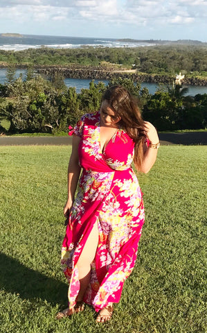 Belle Maxi in Pink - Blush Clothing Playhouse