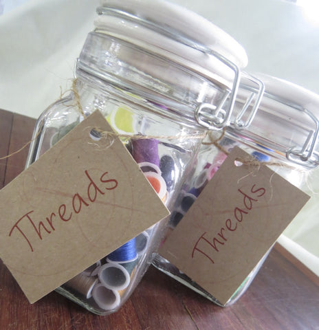 Jar of Threads - Blush Clothing Playhouse