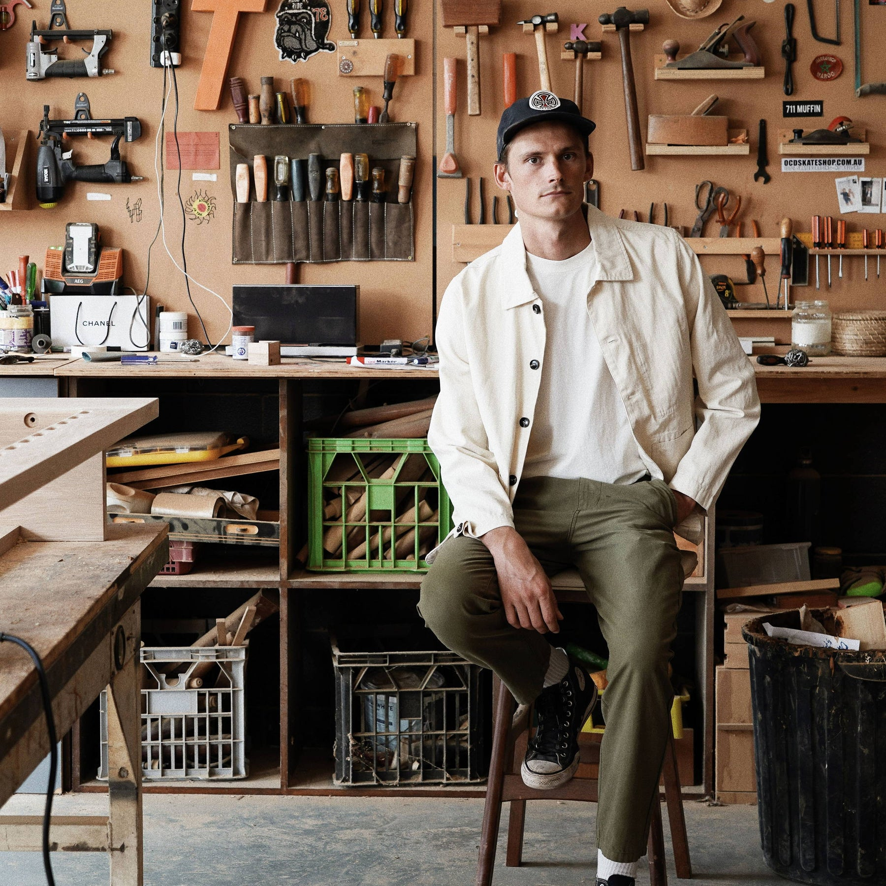 In The Workshop: Kye Darcy