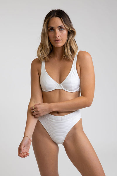 Tahiti Underwire Top White